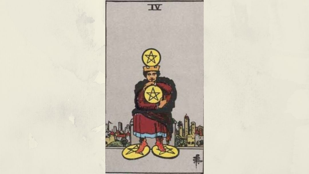 4 of Pentacles Rider-Waite