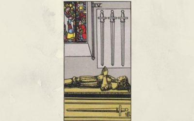 4 of Swords – Rider-Waite