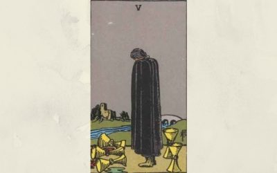 5 of Cups – Rider-Waite
