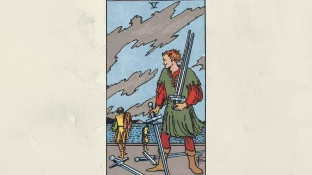 5 of Swords – Rider-Waite