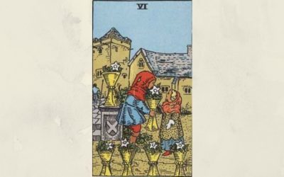 6 of Cups – Rider-Waite