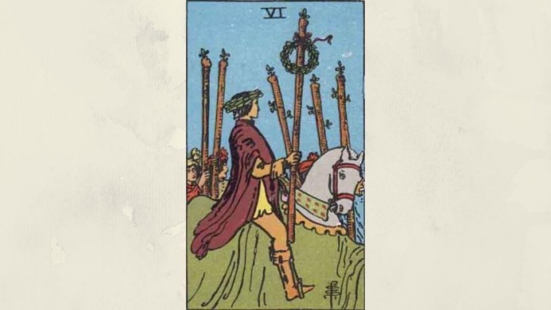 6 of Wands - Rider-Waite Minor Arcana