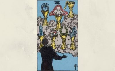 7 of Cups – Rider-Waite