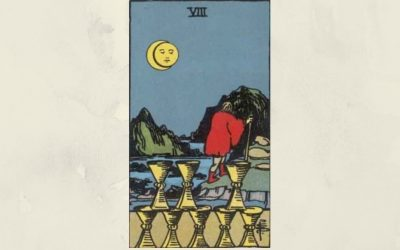 8 of Cups – Rider-Waite