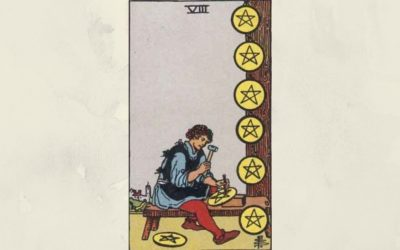 8 of Pentacles – Rider-Waite