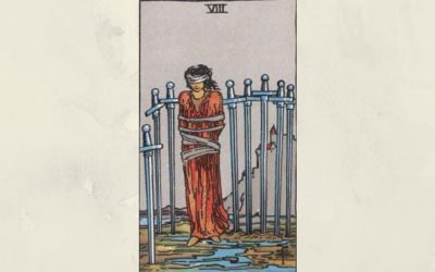 8 of Swords – Rider-Waite