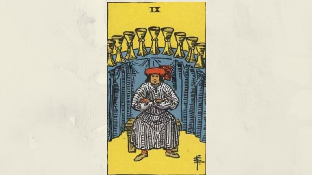 9 of Cups - Rider-Waite Minor Arcana