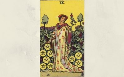 9 of Pentacles – Rider-Waite