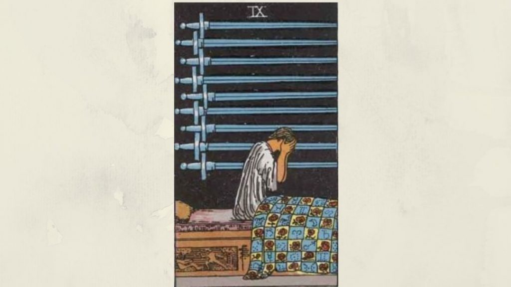 9 of Swords - Rider-Waite Minor Arcana