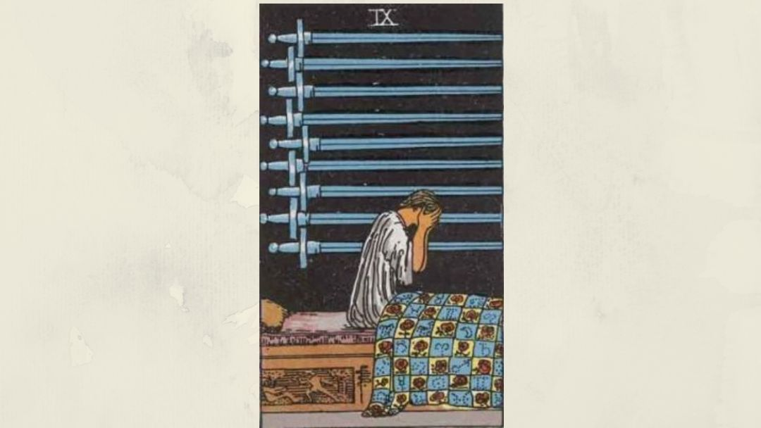 9 of Swords – Rider-Waite