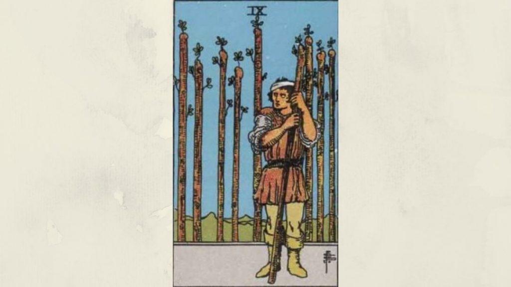 9 of Wands - Rider-Waite Minor Arcana