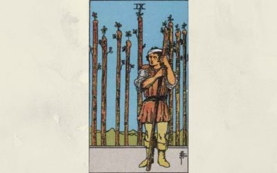 9 of Wands – Rider-Waite