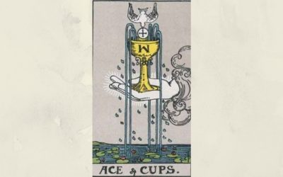 Ace of Cups – Rider-Waite