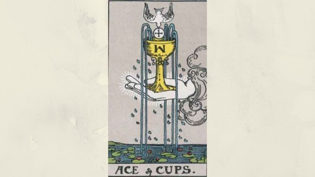 Ace of Cups - Rider-Waite Minor Arcana