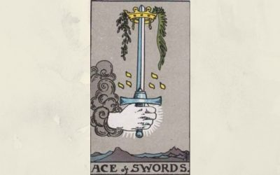 Ace of Swords – Rider-Waite
