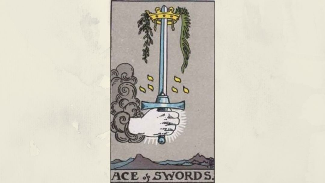 Ace of Swords – Rider-Waite