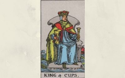 King of Cups – Rider-Waite