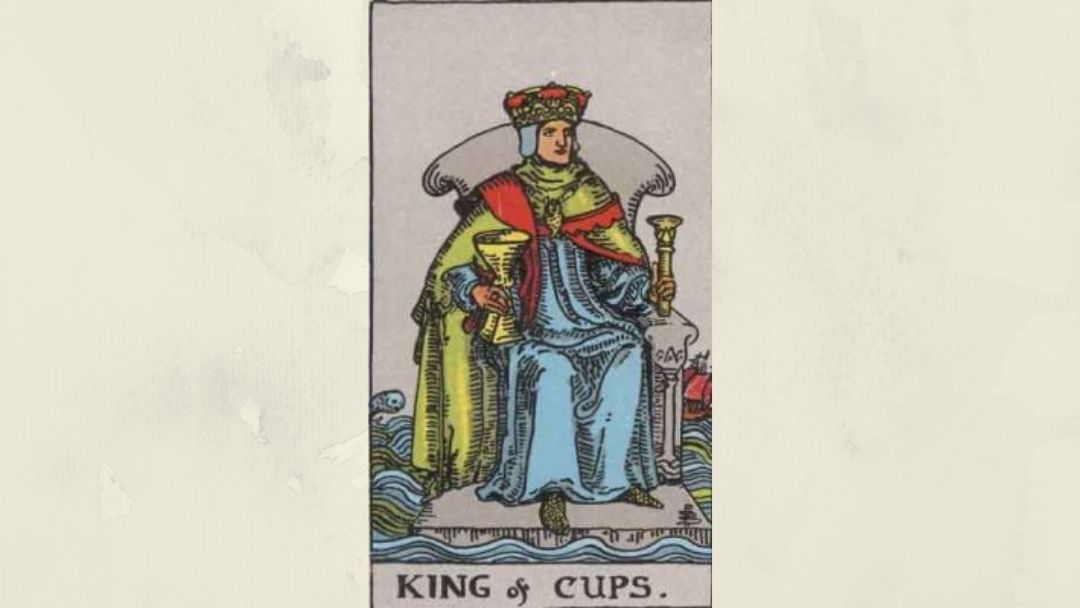 King of Cups - Rider-Waite court card