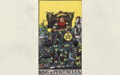 King of Pentacles – Rider-Waite