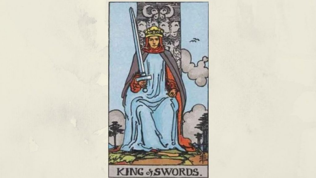 King of Swords - Rider-Waite court card