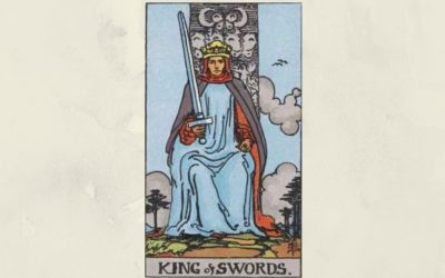 King of Swords – Rider-Waite