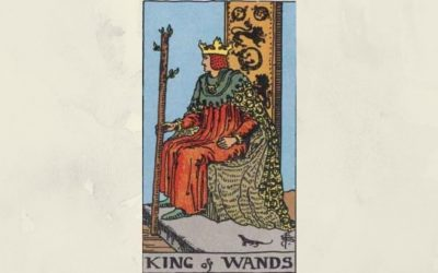King of Wands – Rider-Waite