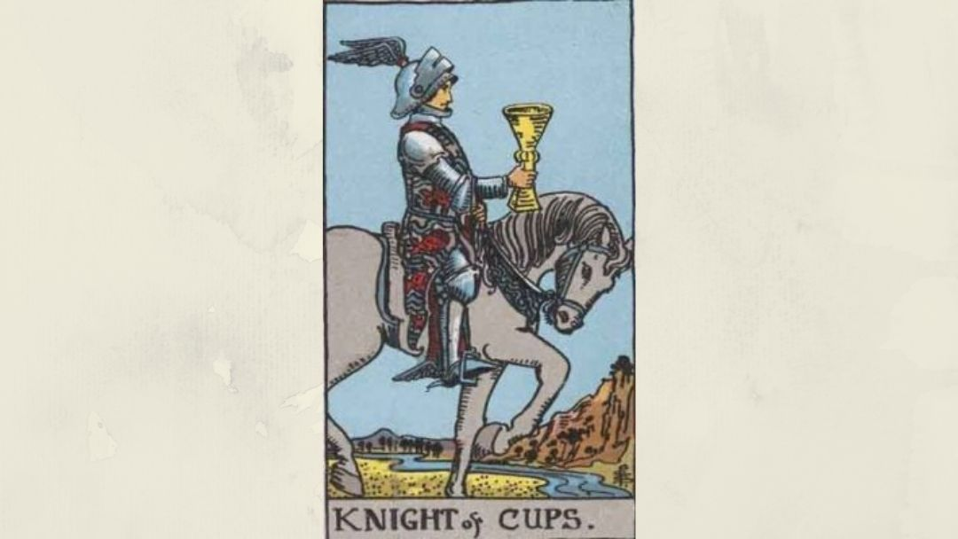 Knight of Cups - Rider-Waite Court Card
