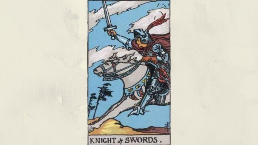 Knight of Swords - Rider-Waite Major Arcana