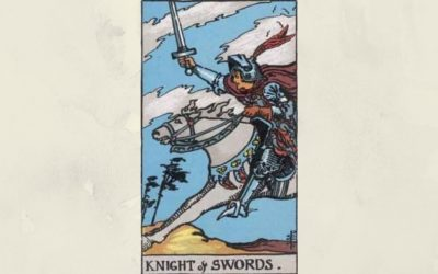 Knight of Swords – Rider-Waite