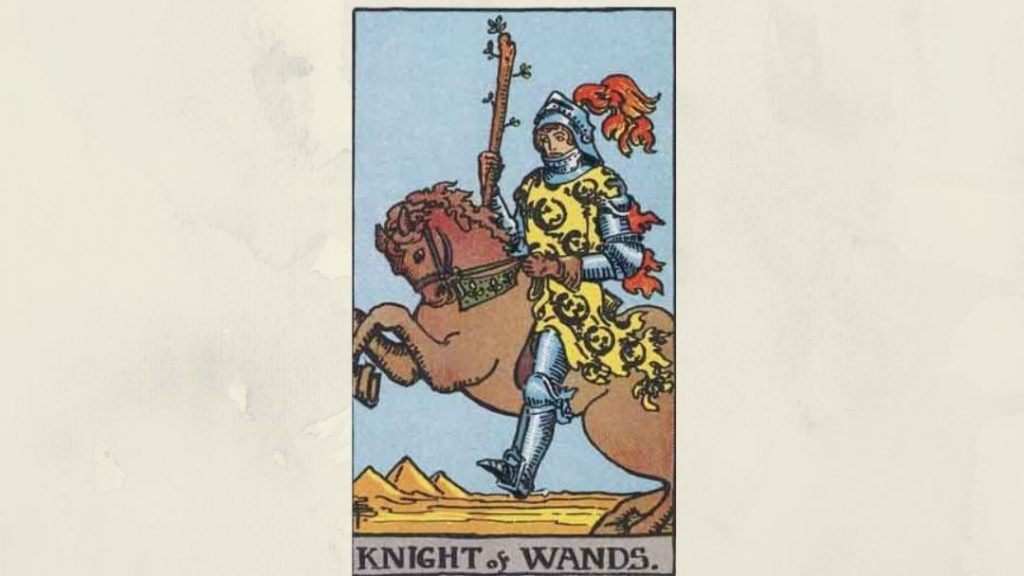 Knight of Wands - Rider-Waite Court Card