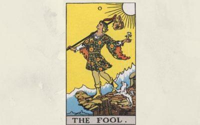 0 The Fool – Rider-Waite