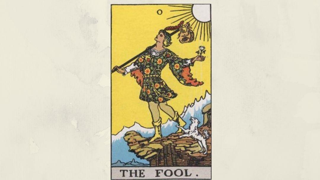 0 The Fool - Rider-Waite Major Arcana
