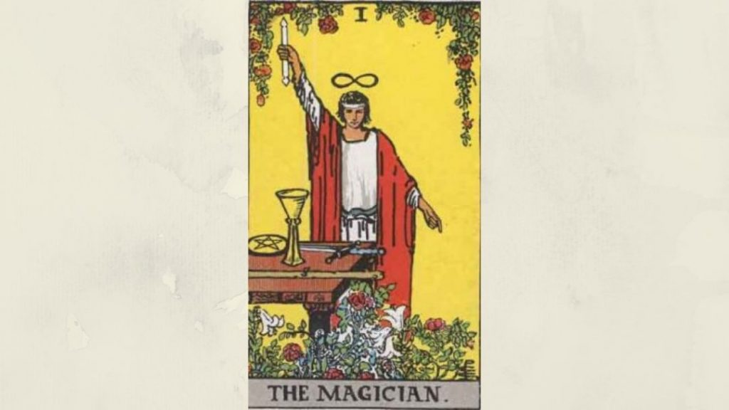1The Magician - Rider-Waite Major Arcana