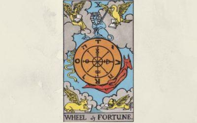 10 Wheel of Fortune – Rider-Waite