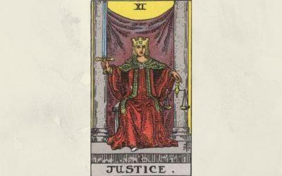 11 Justice – Rider-Waite