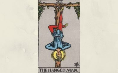 12 The Hanged Man – Rider-Waite