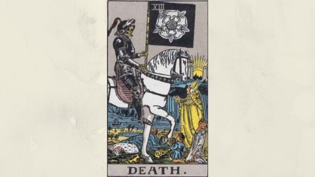 13 Death - Rider-Waite Major Arcana