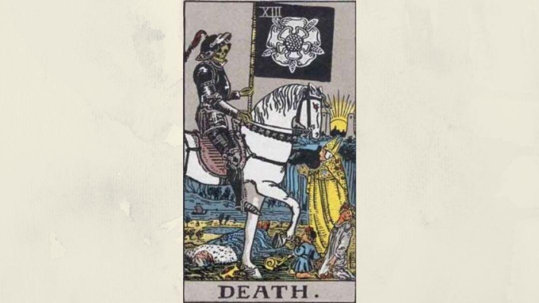 13 Death - Rider-Waite Major Arcana