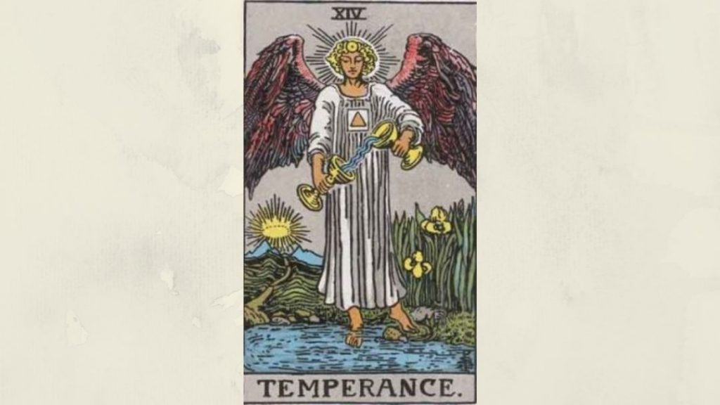 14 Temperance - Rider-Waite Major Arcana