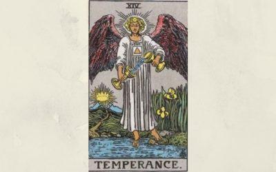 14 Temperance – Rider-Waite