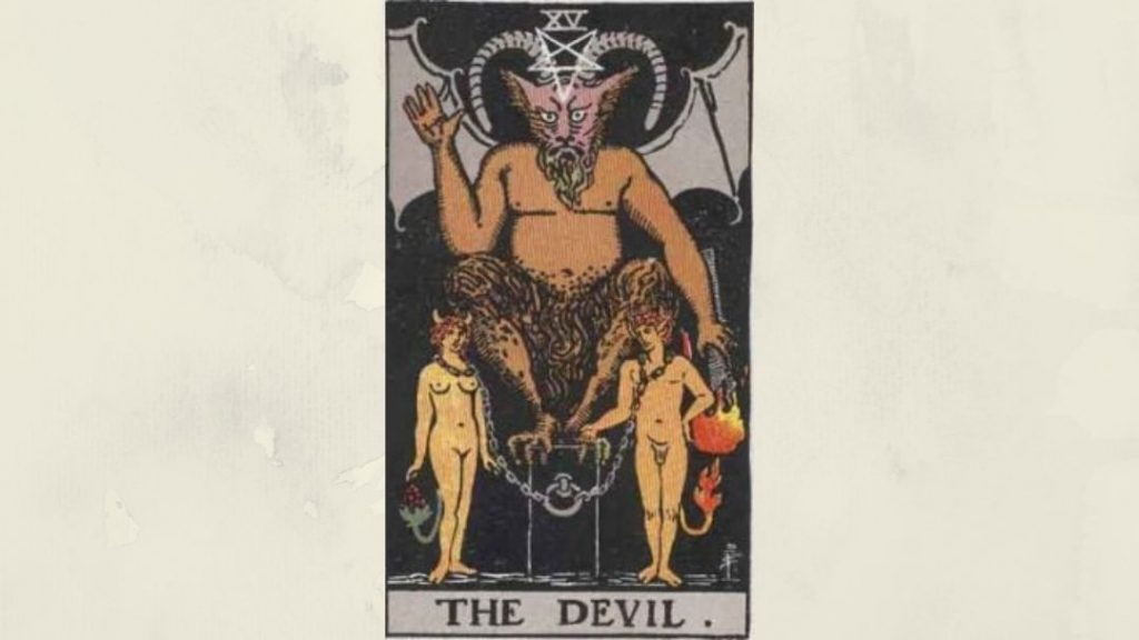 15 The Devil - Rider-Waite Major Arcana