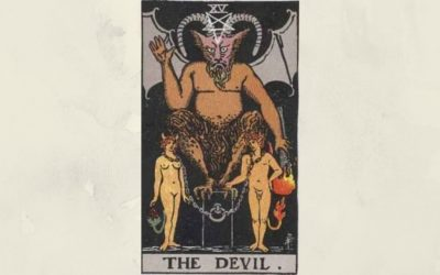 15 The Devil – Rider-Waite