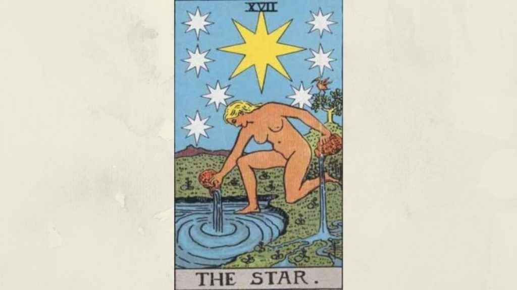 17 The Star - Rider-Waite Major Arcana