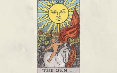 19 The Sun – Rider-Waite