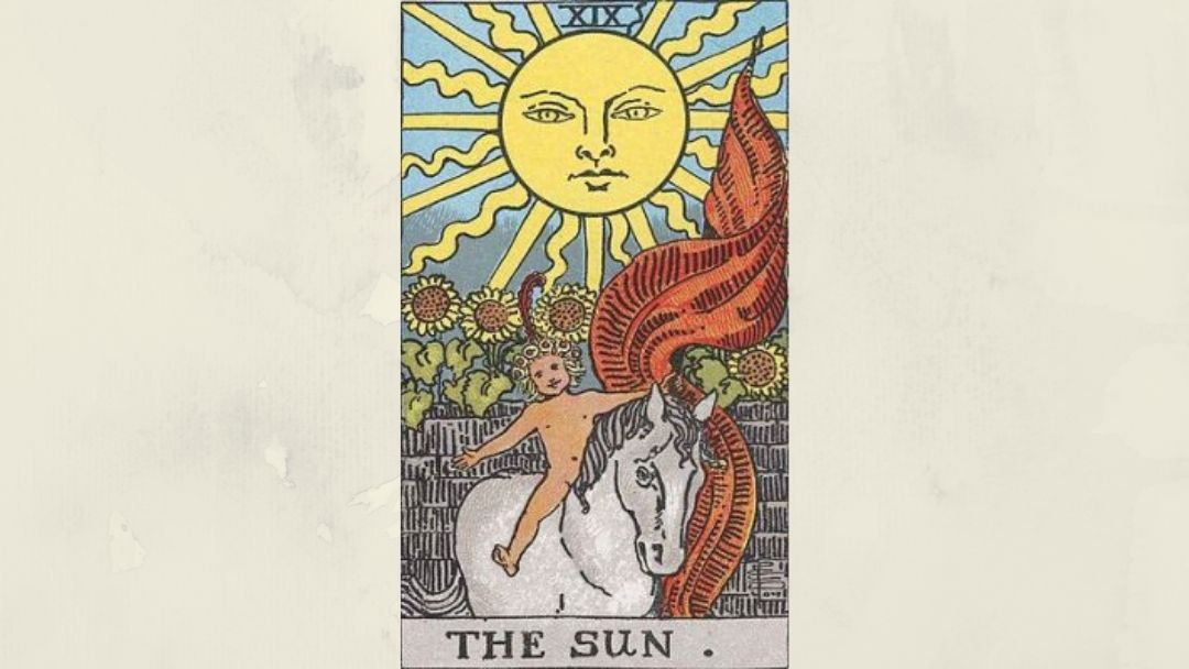 19 The Sun - Rider-Waite Major Arcana