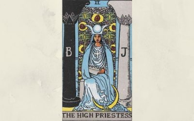 2 The High Priestess – Rider-Waite