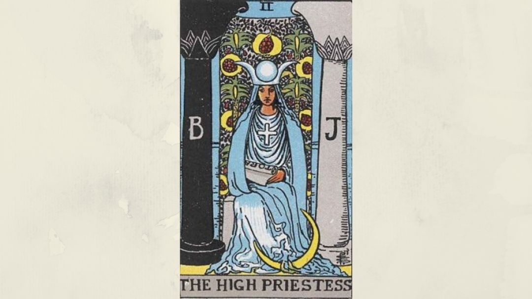 2 The High Priestess - Rider-Waite Major Arcana