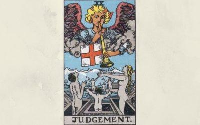 20 Judgement – Rider-Waite