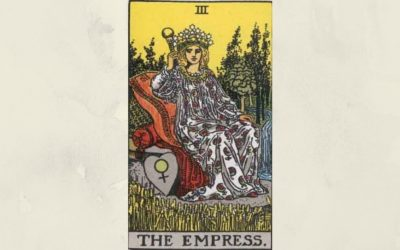 3 The Empress – Rider-Waite