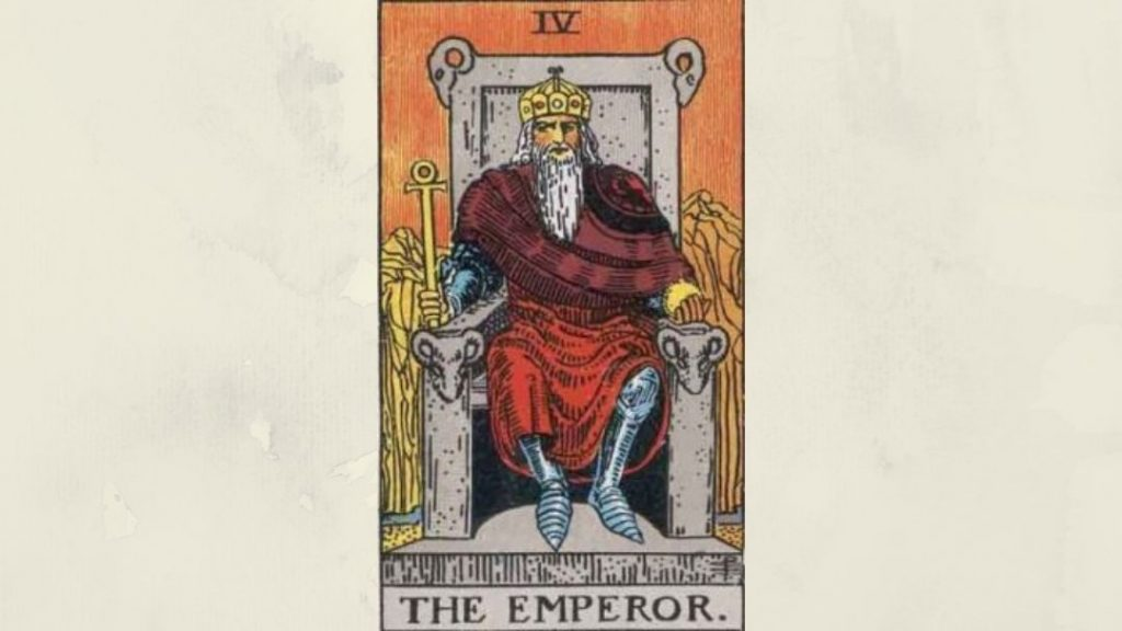 4 The Emperor - Rider-Waite Major Arcana
